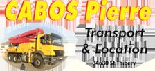 CABOS PIERRE TRANSPORT ET LOCATION